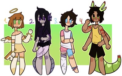 Themed Adopts 3  [Closed] by Ghost-Pitusa