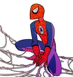 Epic Spider-man by saintwizard