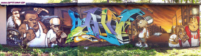 Wall Hamburg by getfame