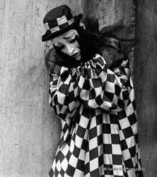 sad clown by danluxe
