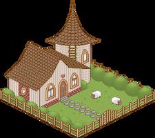Sheep House by Xipako