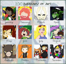 2010 art meme by raygirl