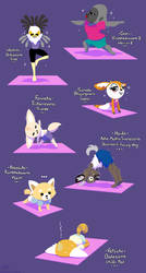 Aggressive Yoga by raygirl