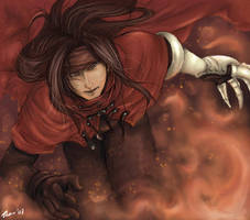 Vincent Valentine by Tharshinaa