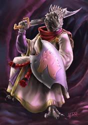 Kulaxath Agrysa, Dragonborn Zealot by Thewog