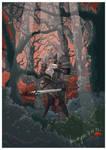 Geralt and Ciri by dziwnym