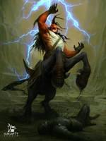 Thunder Treader by Grafit-art