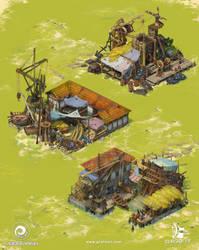 Iron yard / Shipyard by Grafit-art