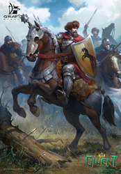 Dun Banner Heavy Cavalry by Grafit-art