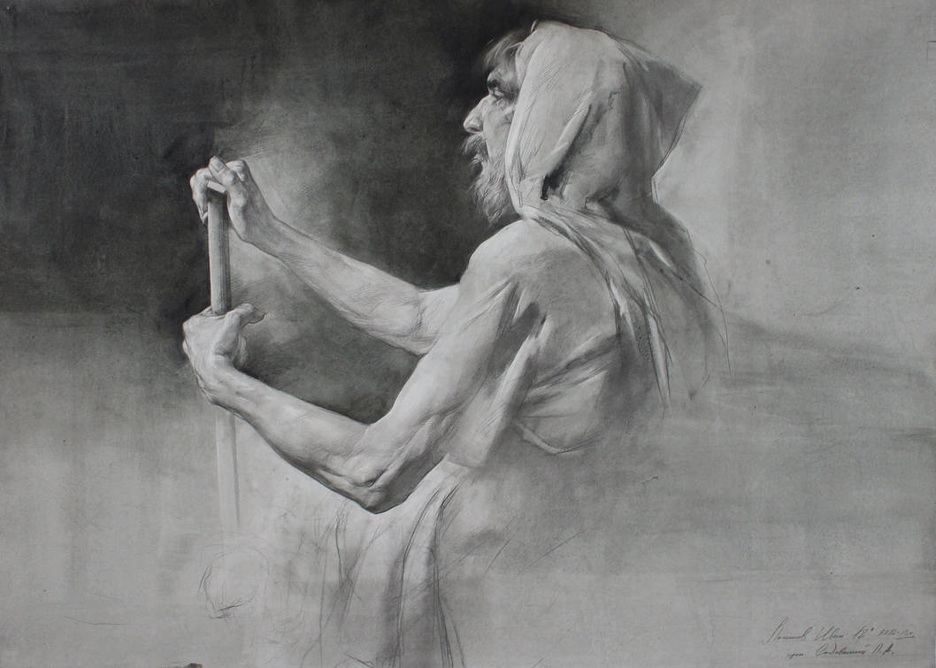 Ivan Loginov - Pencil Drawings (+TUTORIAL) by Grafit-art