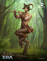 Satyr by Grafit-art