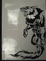 Wolf Shirt Stencil by Canyx