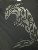 Silver Horse Tshirt by Canyx