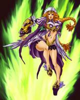 Daimida Contest Entry- Warrior by DaosX