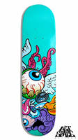 Fierce Skateboard by diazartist