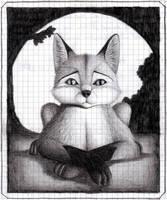 Fox Scribble by Berenfox