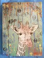 giraffe by kesone
