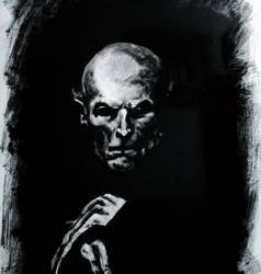 Willem Dafoe as Nosferatu by Sundial-Design
