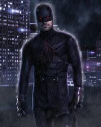 Daredevil Shadowland by ricktimusprime0825