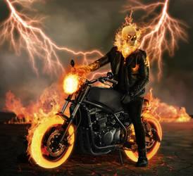 Ghost Rider by ricktimusprime0825