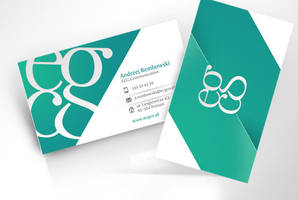 ECG business card by kamilmilka