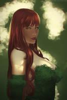 Poison Ivy fanart by Doodah