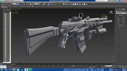 Rifle (WIP) by Makivic