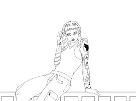 Shadowrun line art 01 by Chrisboe4ever