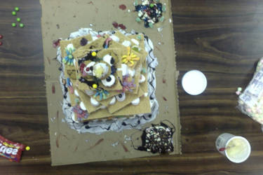 BEHOLD The almighty candy/junk food pyramid by AshlynR
