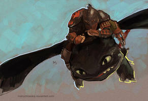 How to Train Your Dragon 2 is coming by mstrychowska