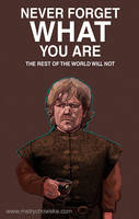 Television Characters: Tyrion by mstrychowska
