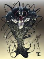 Color Venom by archangel9801