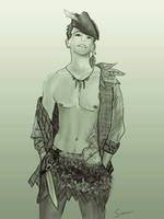 Peter Pan by Samuii