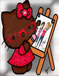 Chocolate Kitty by msteaduffy
