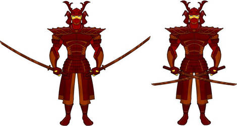 rodan: red ronin of the skies by samuricore