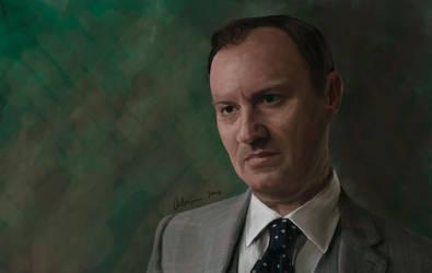 Mycroft Holmes, 'Sherlock' by RussianVal