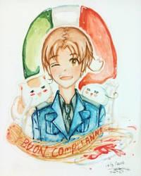 Buon Compleanno Italia by iAc7ivoUsEagaL