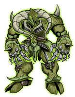 Divine Golem Asterion by GleamingScythe