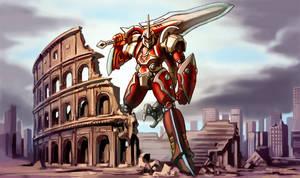 Talos god of Sword by GleamingScythe