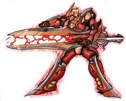 Talos Sword 'Gun' Mode by GleamingScythe