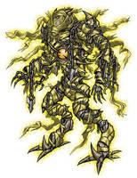 Divine Golem Hastur by GleamingScythe