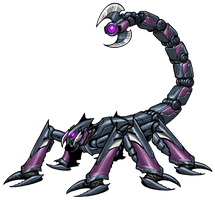 Girtarion, Scorpion Half by GleamingScythe
