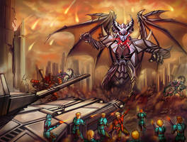 The Siege by GleamingScythe