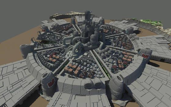 Minecraft Midgar by Killerx20