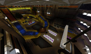 Minecraft Shinra HQ Lobby by Killerx20