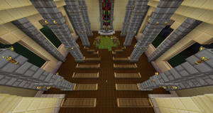 Minecraft Midgar Sector 5 Aeriths Church by Killerx20