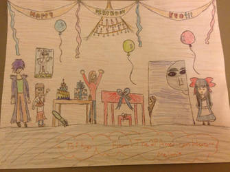 Kyo's birthday present~ by The2pAmericanHero123