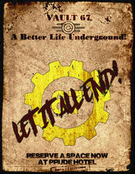 Vault 67 - A Pruder Life, Underground. by MjaxMajoran