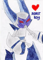 Super-activated Robotboy by NIKY123