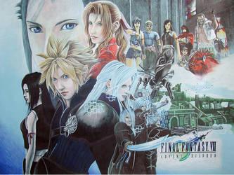 FFVII-AC Poster by shirou-oh-sakura